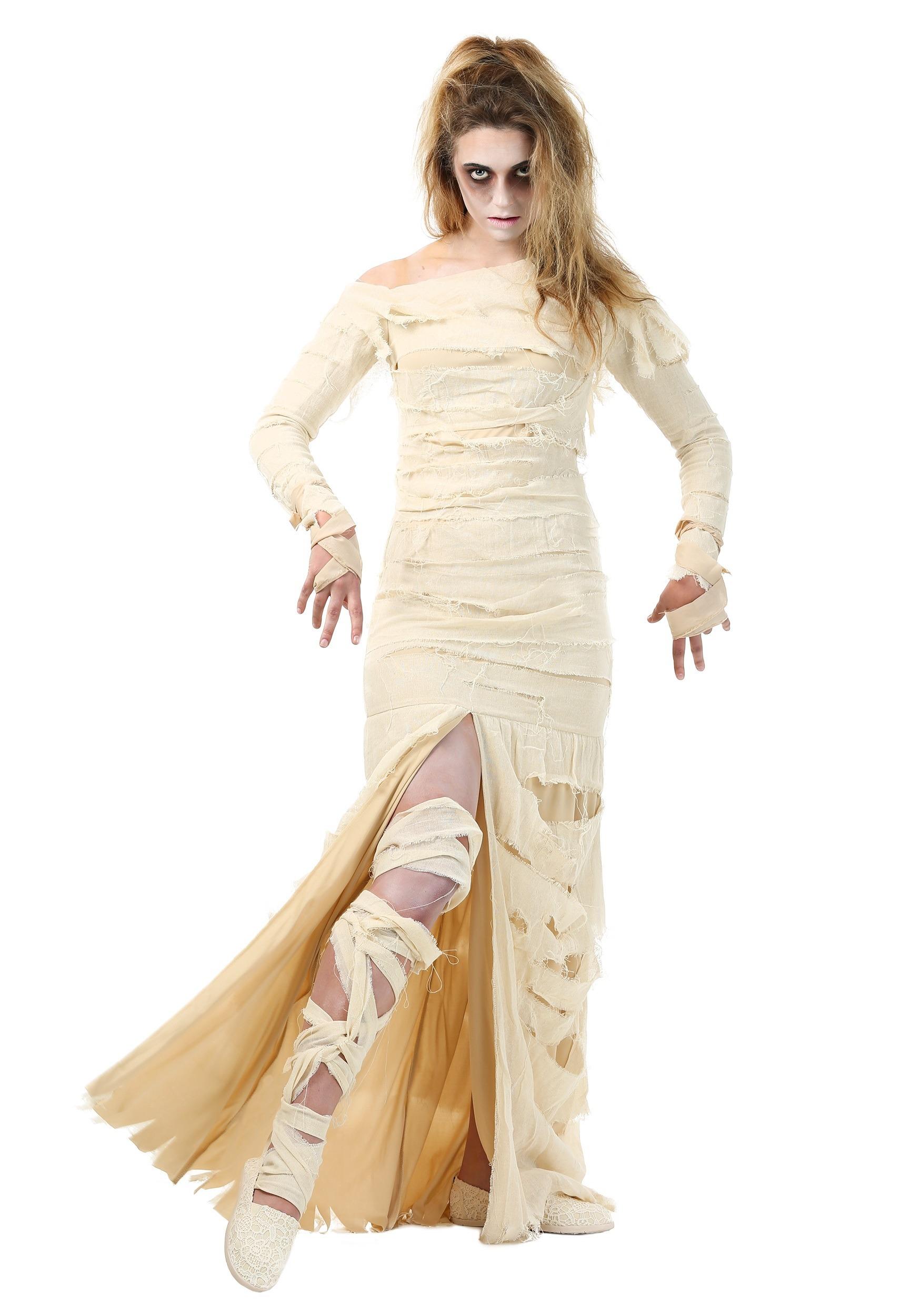 Full Length Women's Mummy Costume