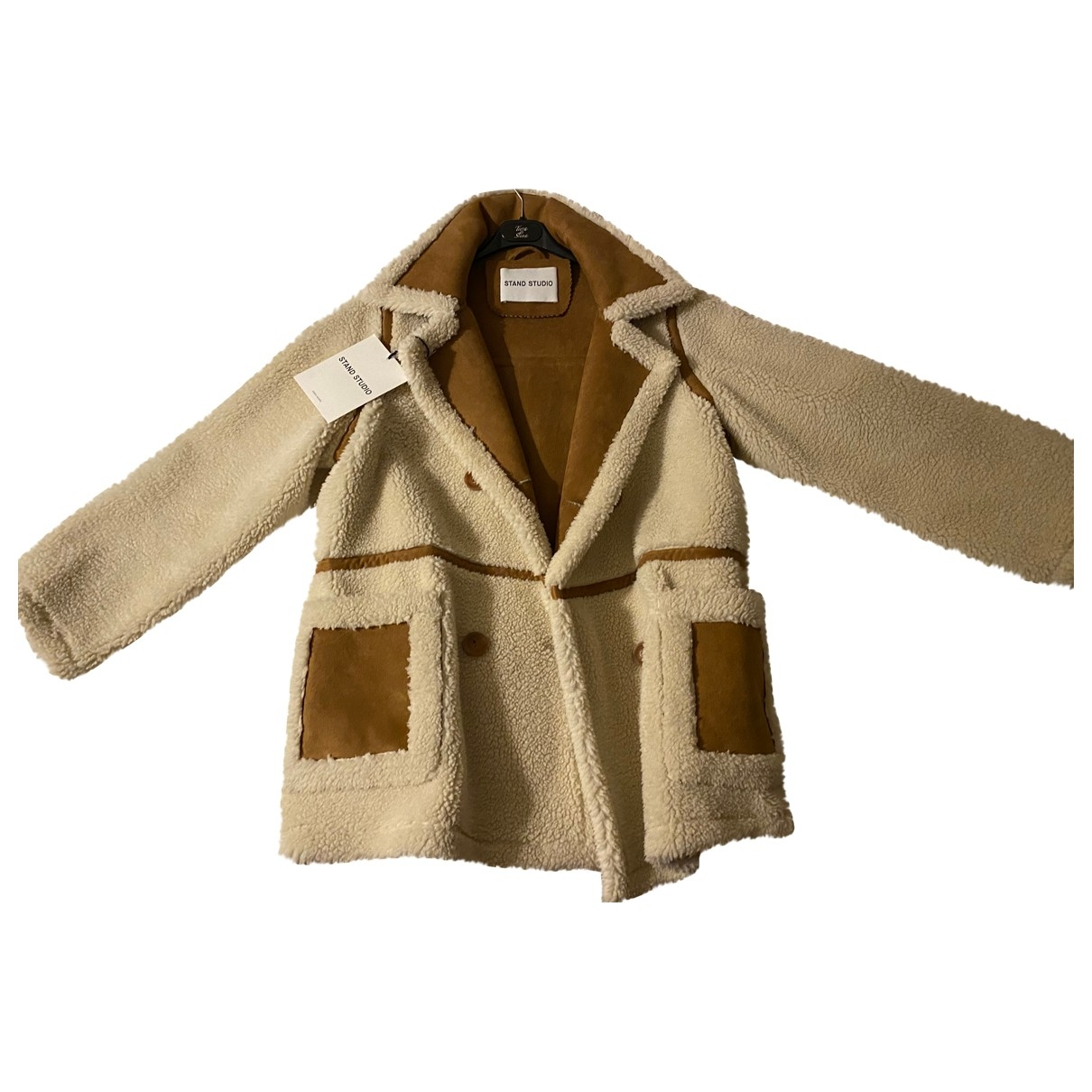 Stand Studio \N Beige jacket for Women 38 FR
