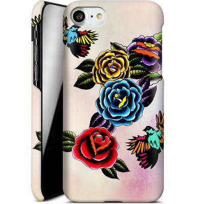 Apple iPhone 8 Smartphone Huelle - Tattoo Roses von Mark Ashkenazi