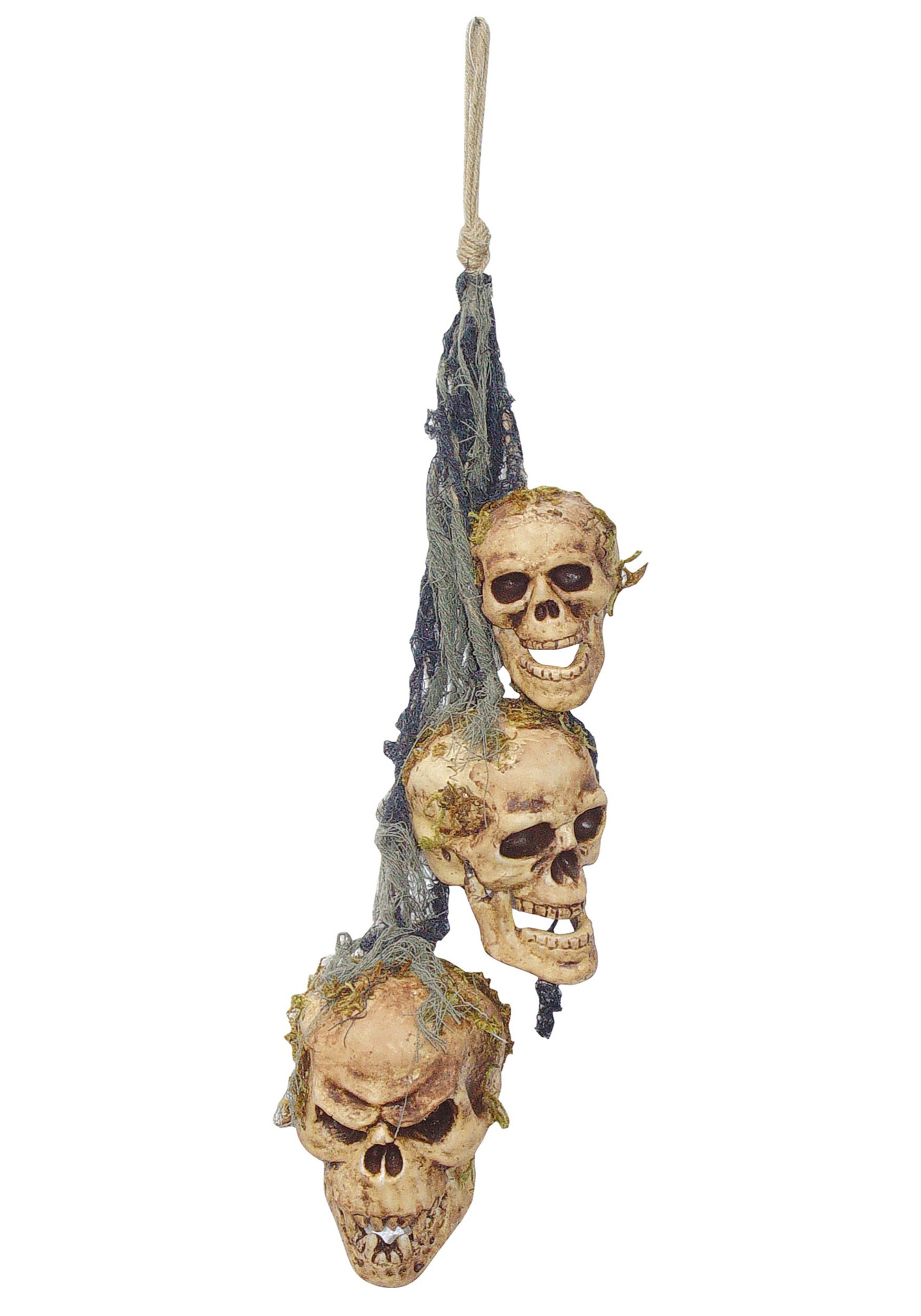 Rotten Hanging Skulls Decoration
