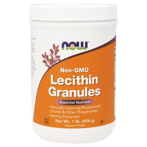 Lecithin Granules 1 lb by Now Foods
