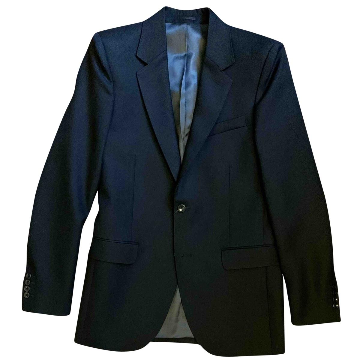 Alexander Mcqueen \N Black Wool jacket  for Men 48 IT