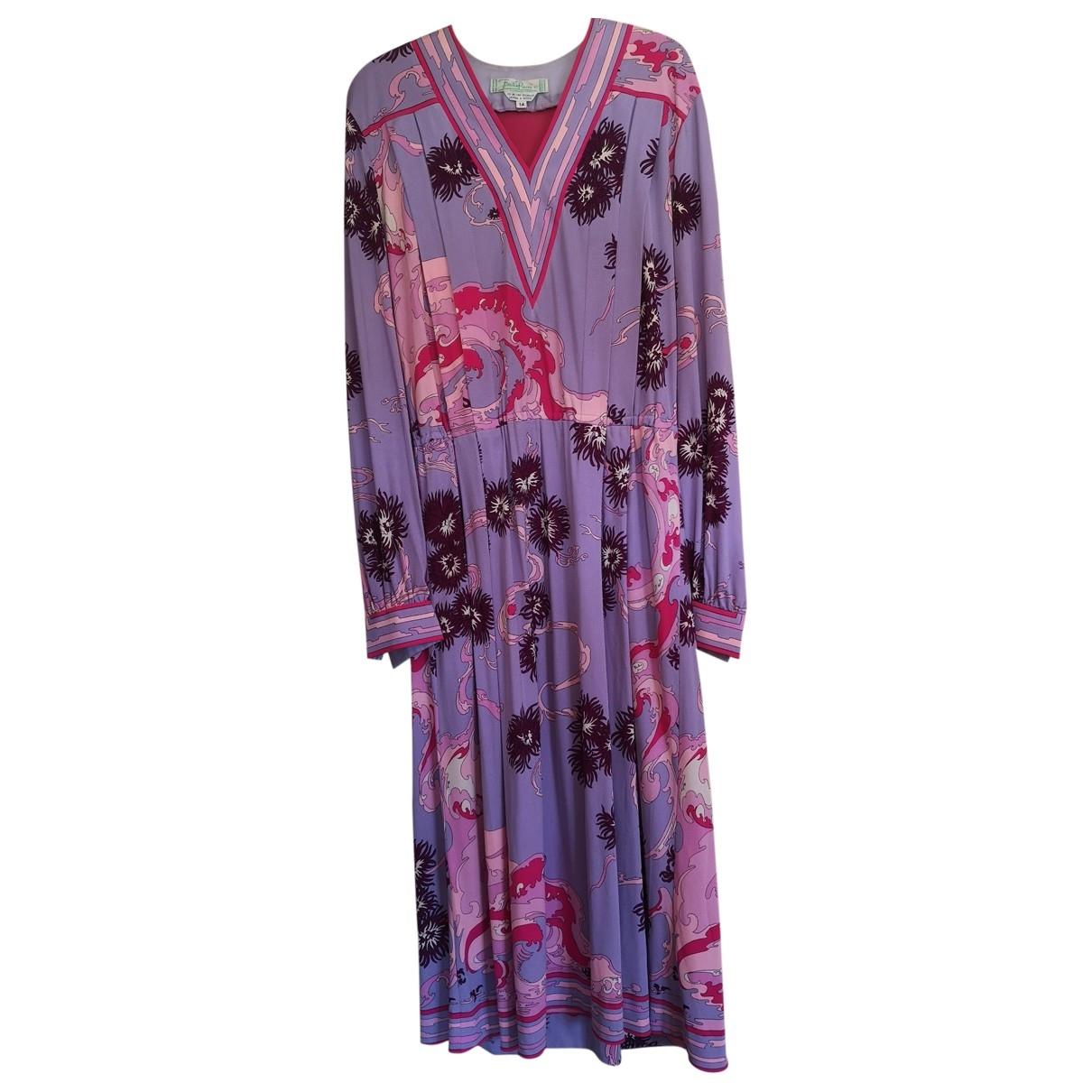 Emilio Pucci \N Silk dress for Women 42 IT
