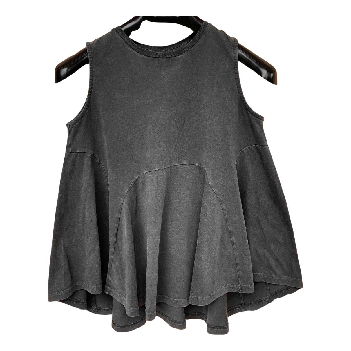 Asos - Top   pour femme en coton - gris