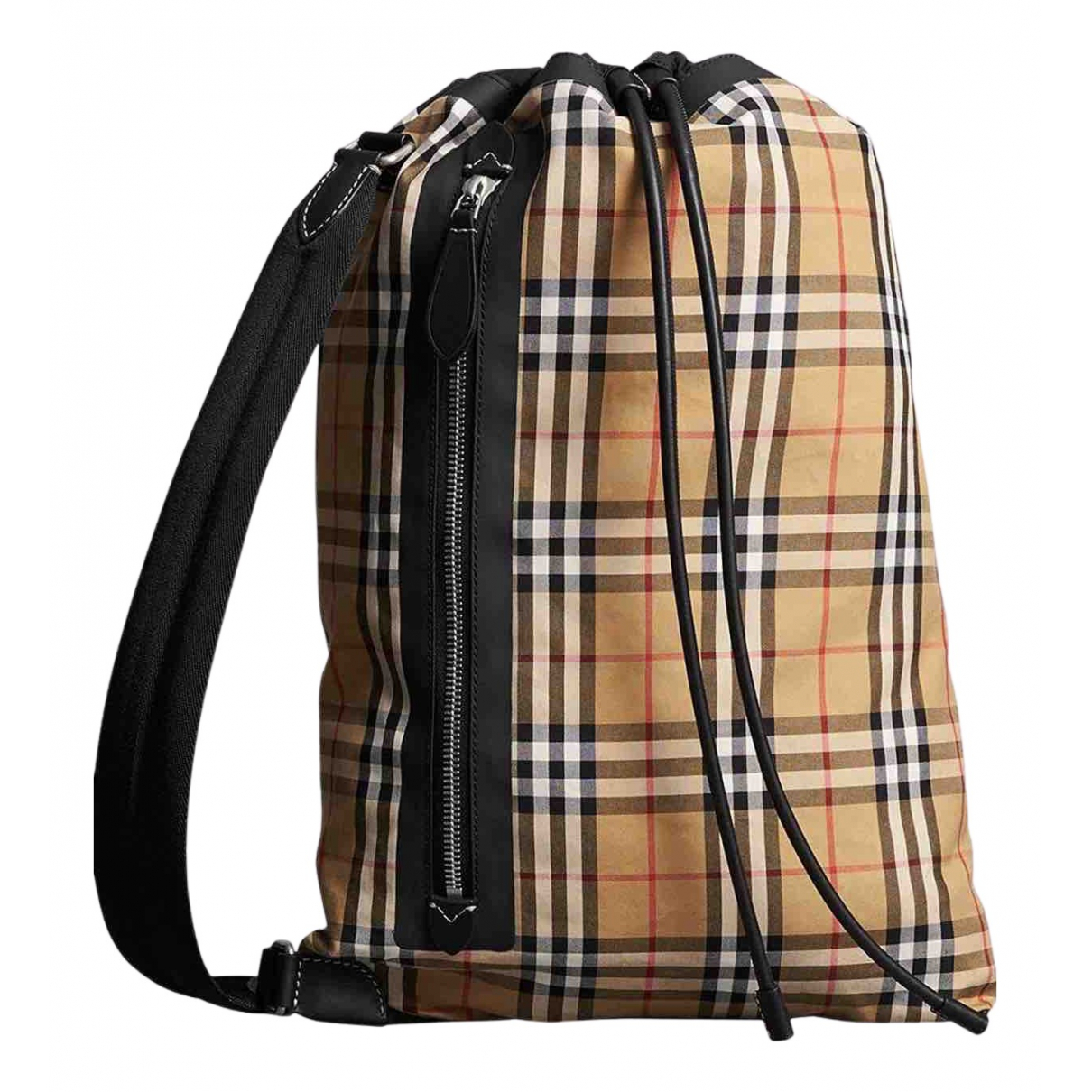 Burberry N Beige Cloth bag for Men N