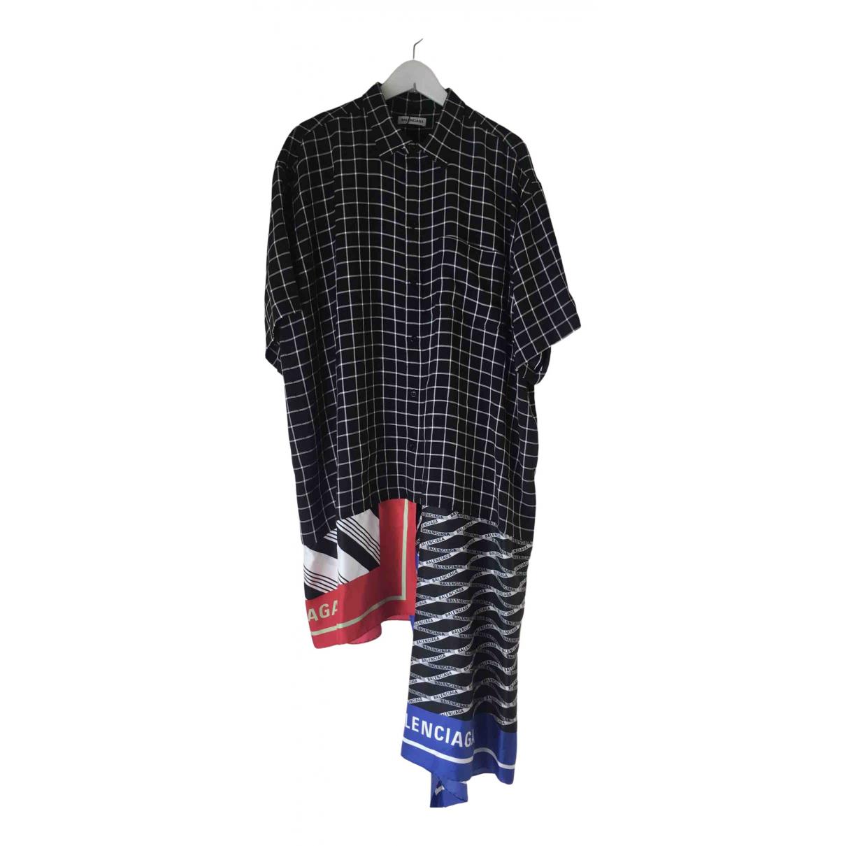 Balenciaga \N Kleid in Viskose