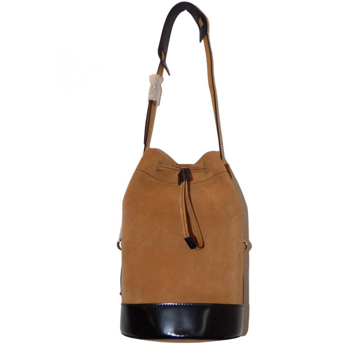 Kenzo \N Handtasche in  Braun Leder