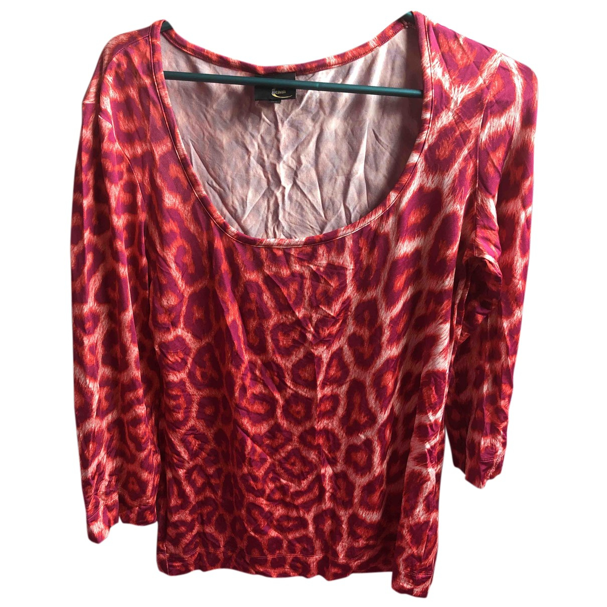 Just Cavalli - Top   pour femme - rouge