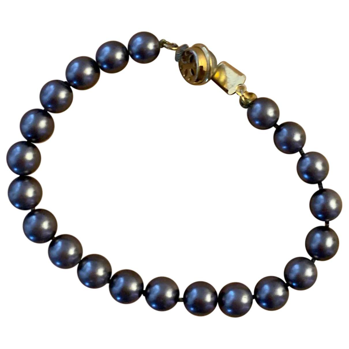 - Bracelet   pour femme en perles - gris