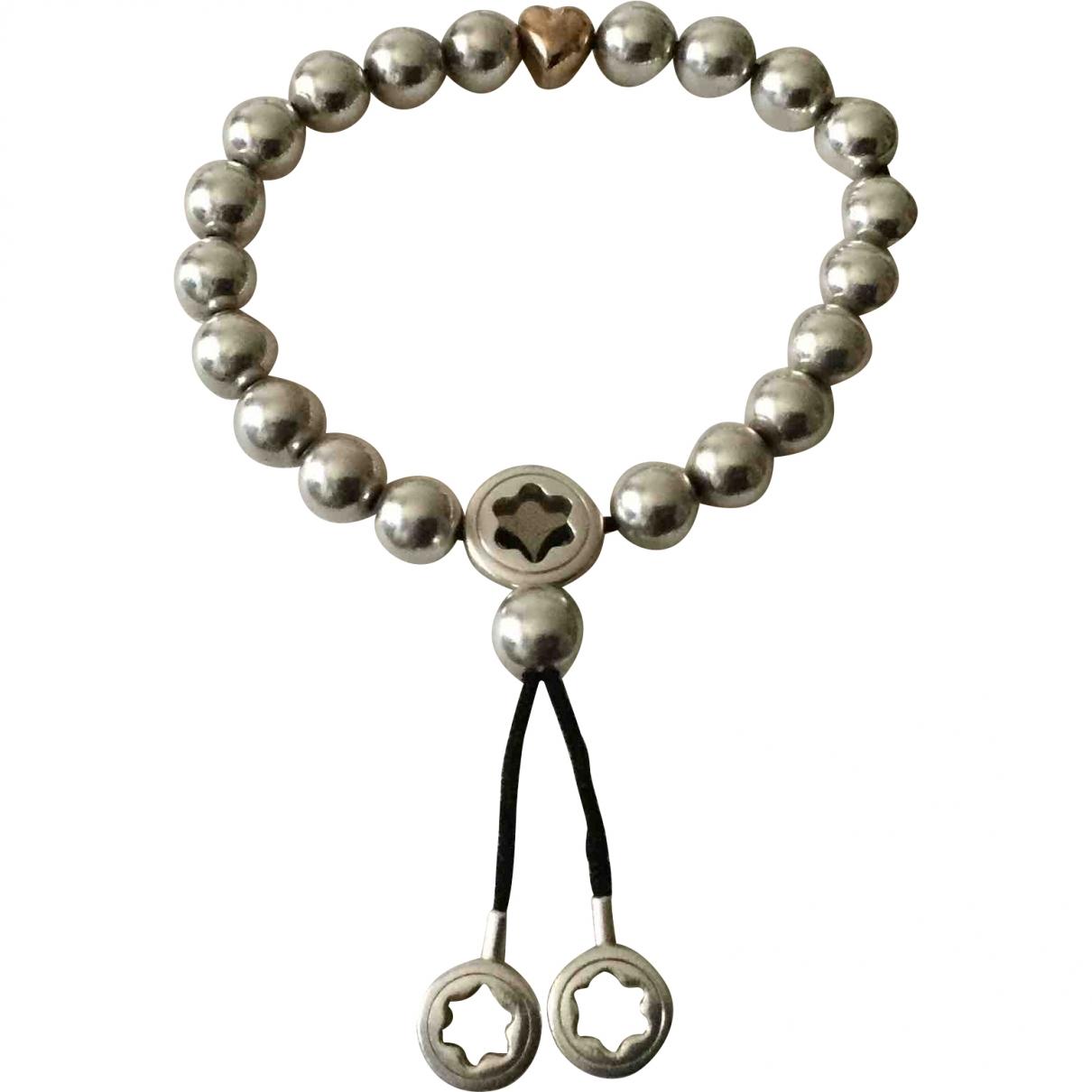 Montblanc - Bracelet   pour femme en metal - argente