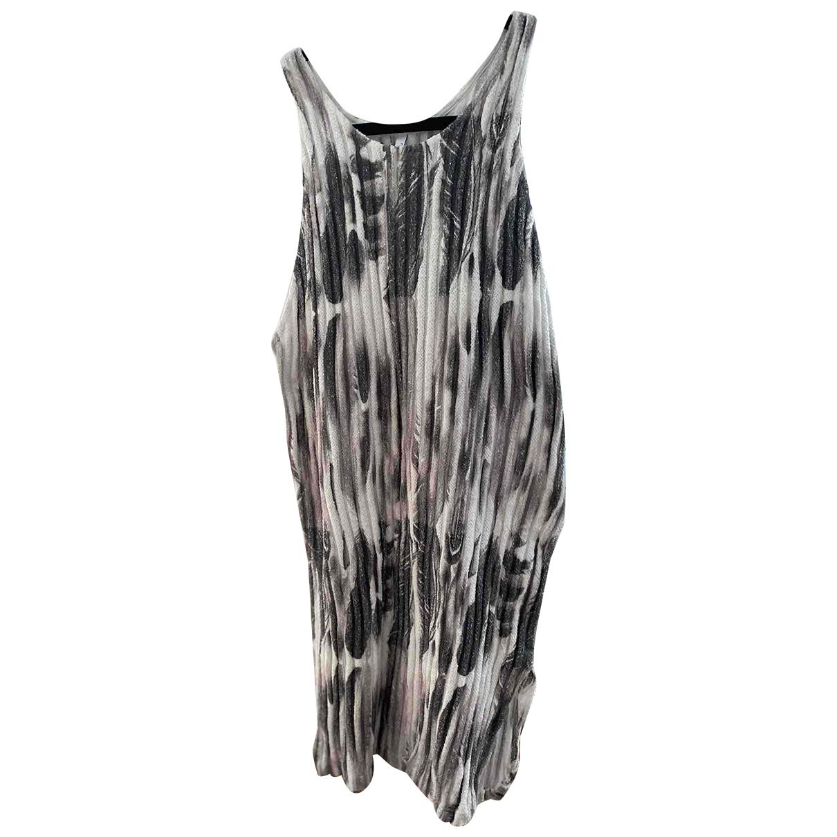 Faith Connexion \N Grey Cotton dress for Women M International