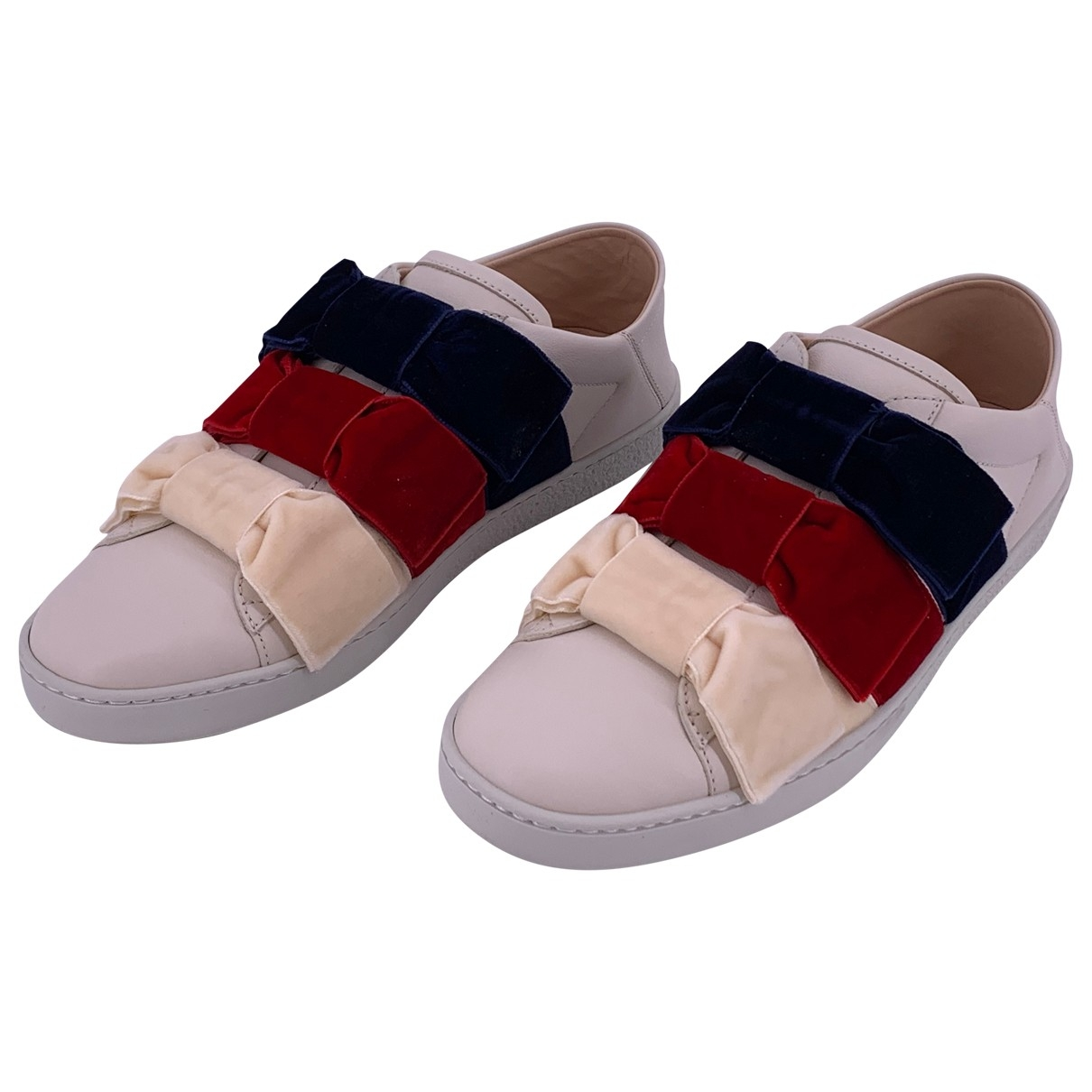 Gucci \N Multicolour Leather Trainers for Women 39.5 EU