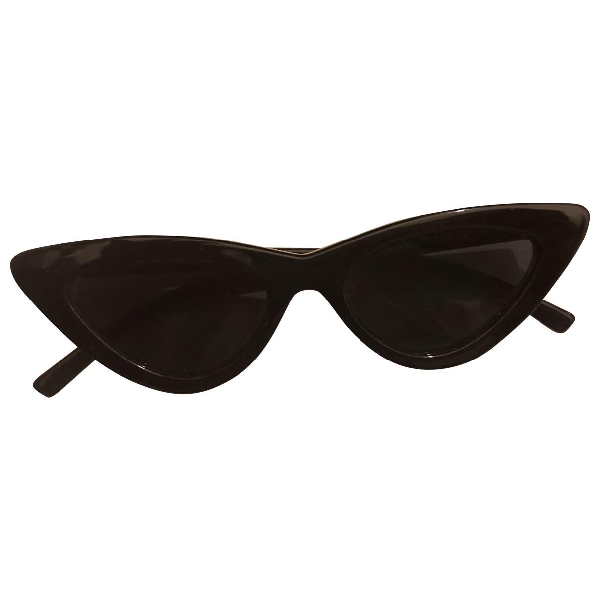 Le Specs \N Sonnenbrillen in  Schwarz Kunststoff