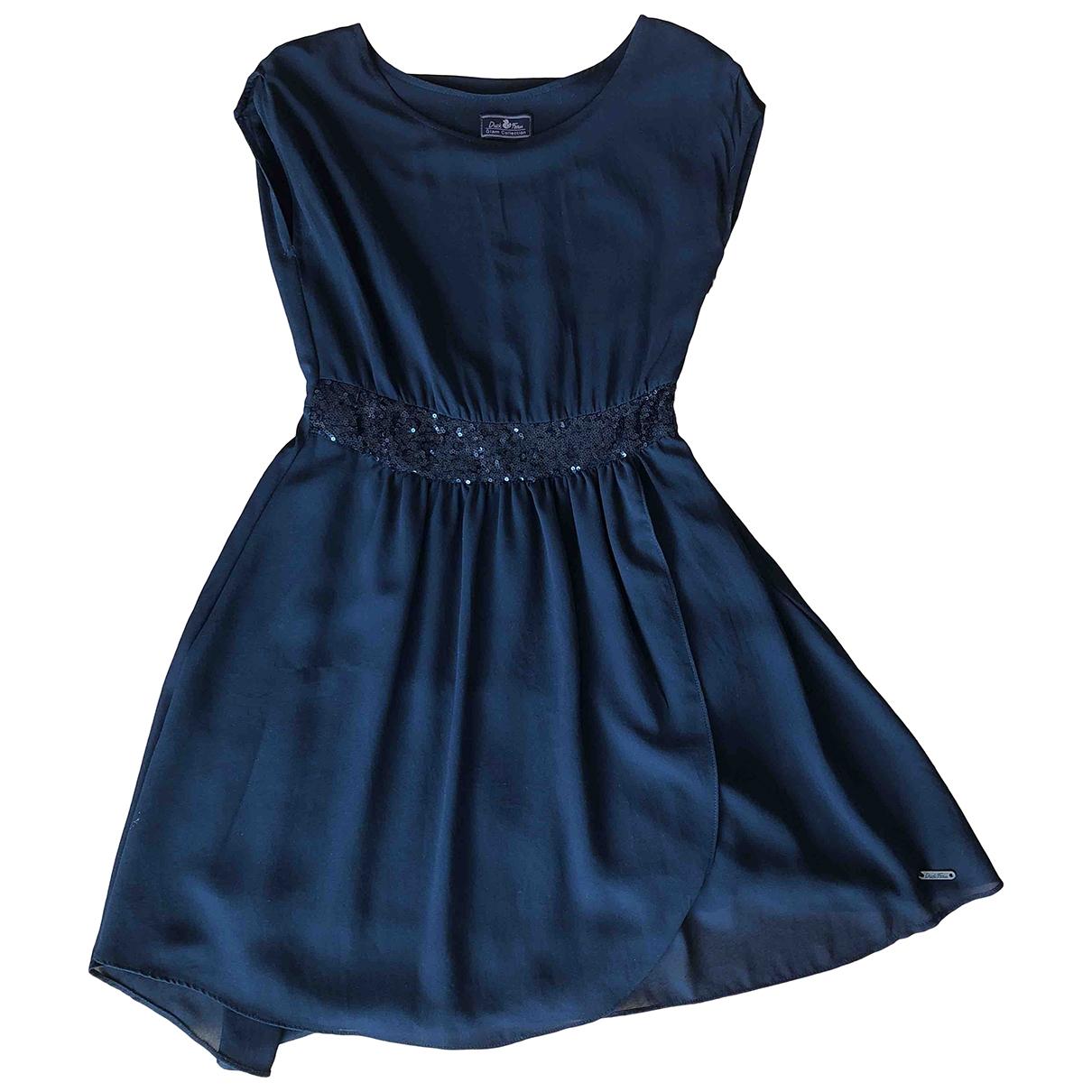Save The Duck \N Kleid in  Schwarz Polyester