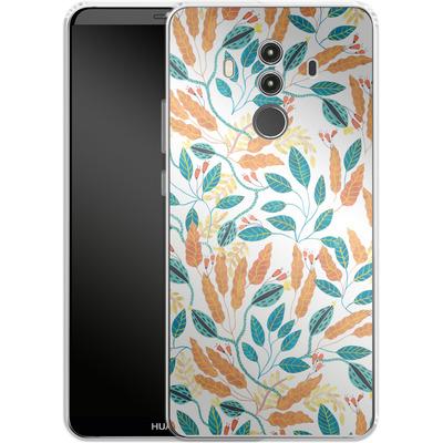 Huawei Mate 10 Pro Silikon Handyhuelle - Wild Leaves von Iisa Monttinen