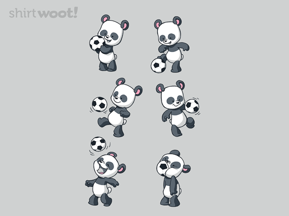 Playful Panda T Shirt