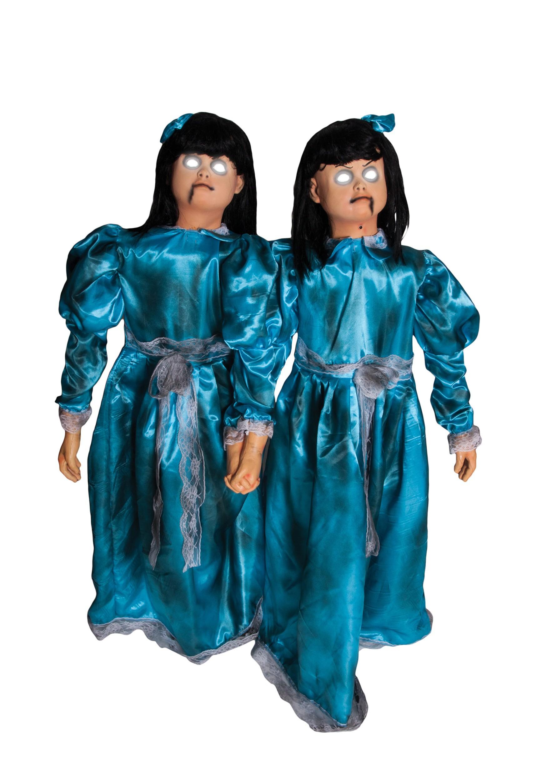 Animated Evil Twins Decoration