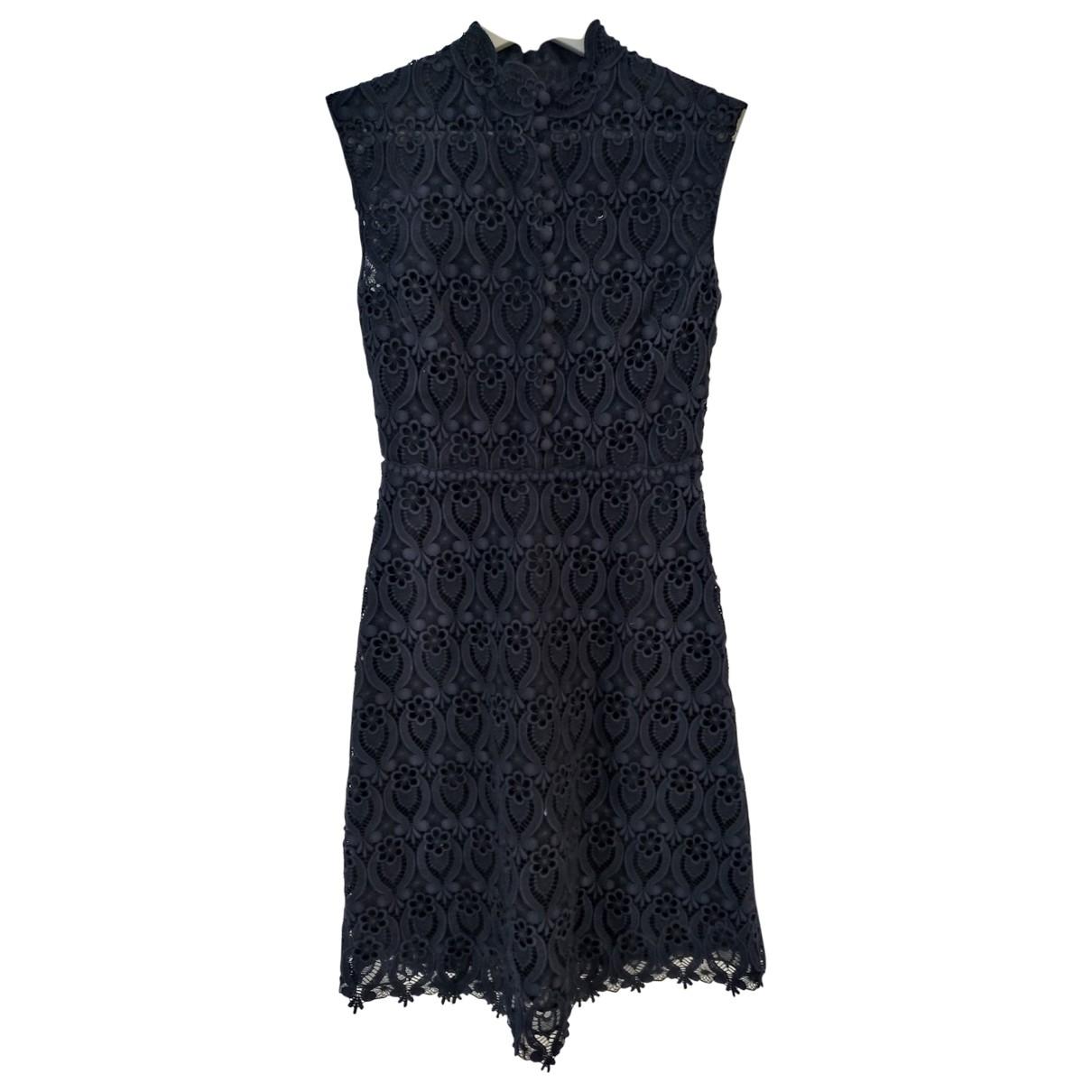 Valentino Garavani - Robe   pour femme en coton - elasthane - marine