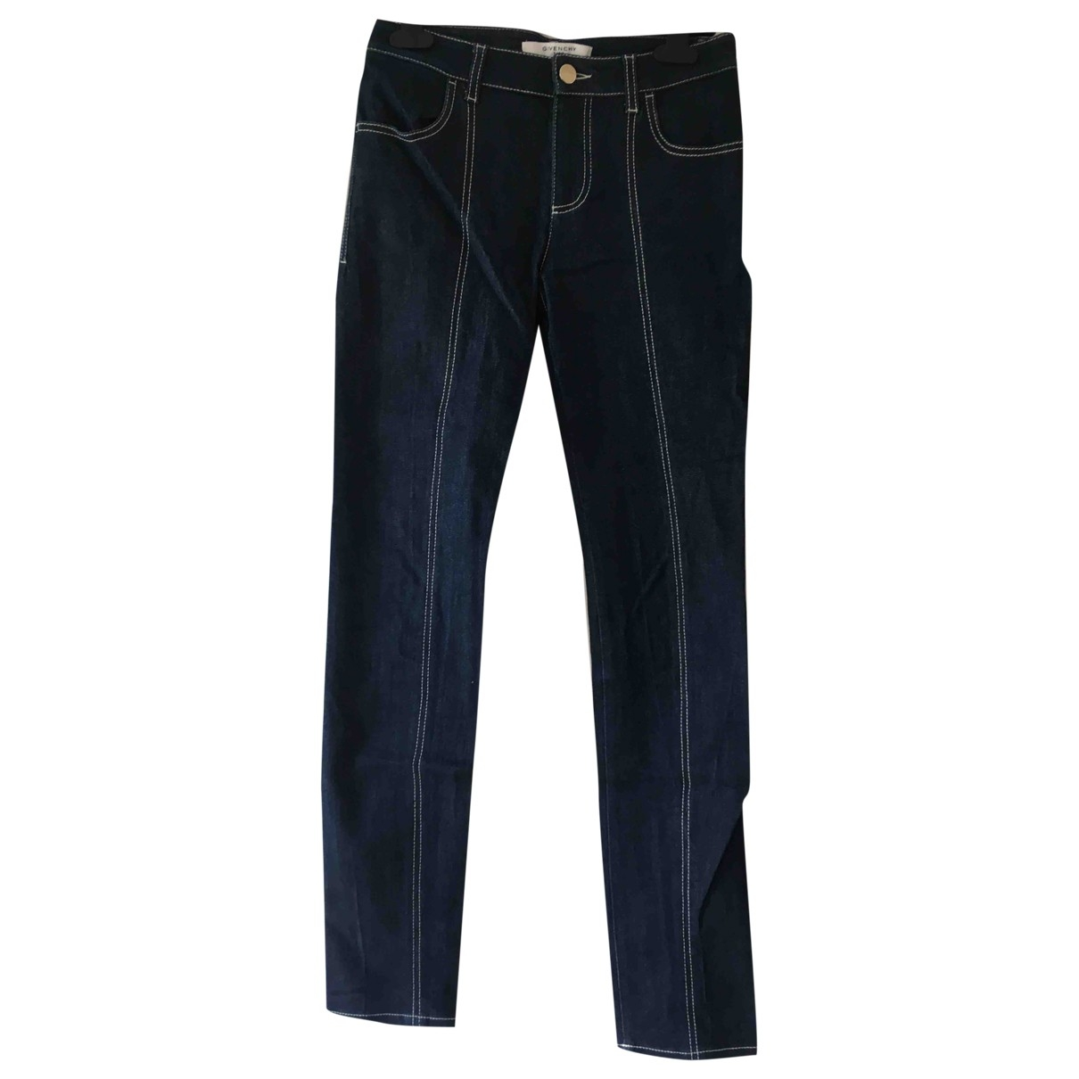 Givenchy \N Blue Cotton Jeans for Women 34 FR