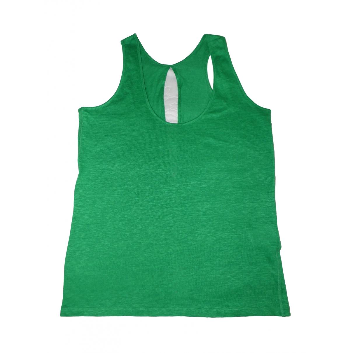 Sandro \N Green Linen  top for Women 3 0-5