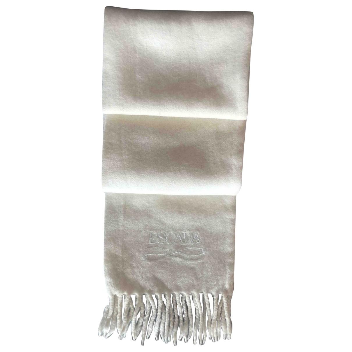 Escada \N Beige Wool scarf for Women \N
