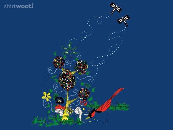 Enchanted Garden T Shirt