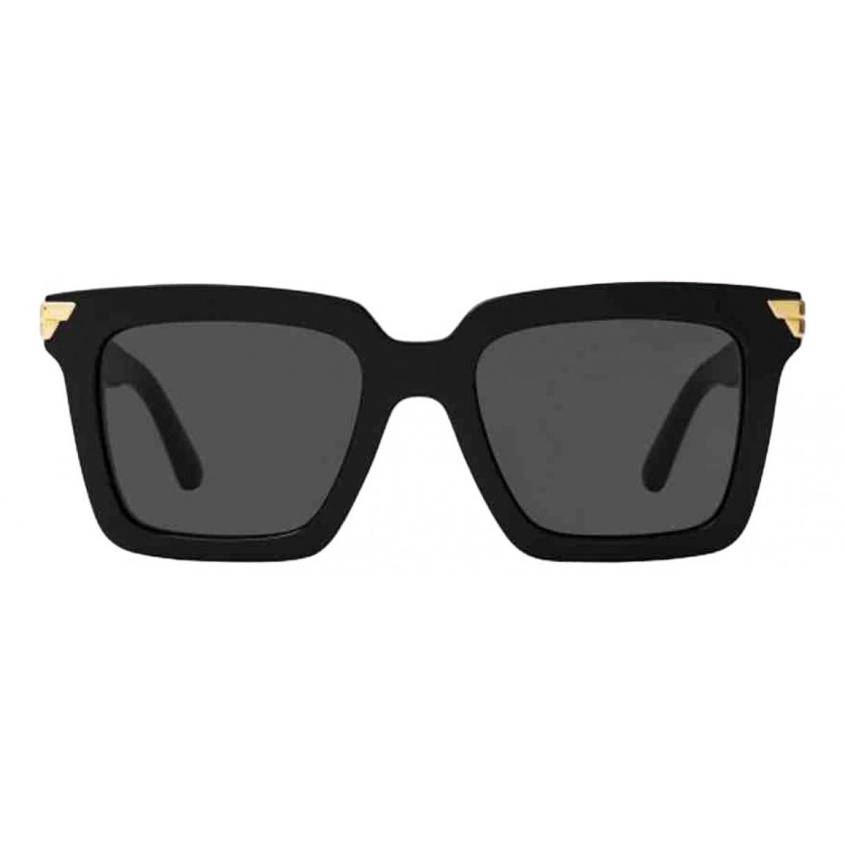 Bottega Veneta \N Sonnenbrillen in  Schwarz Kunststoff