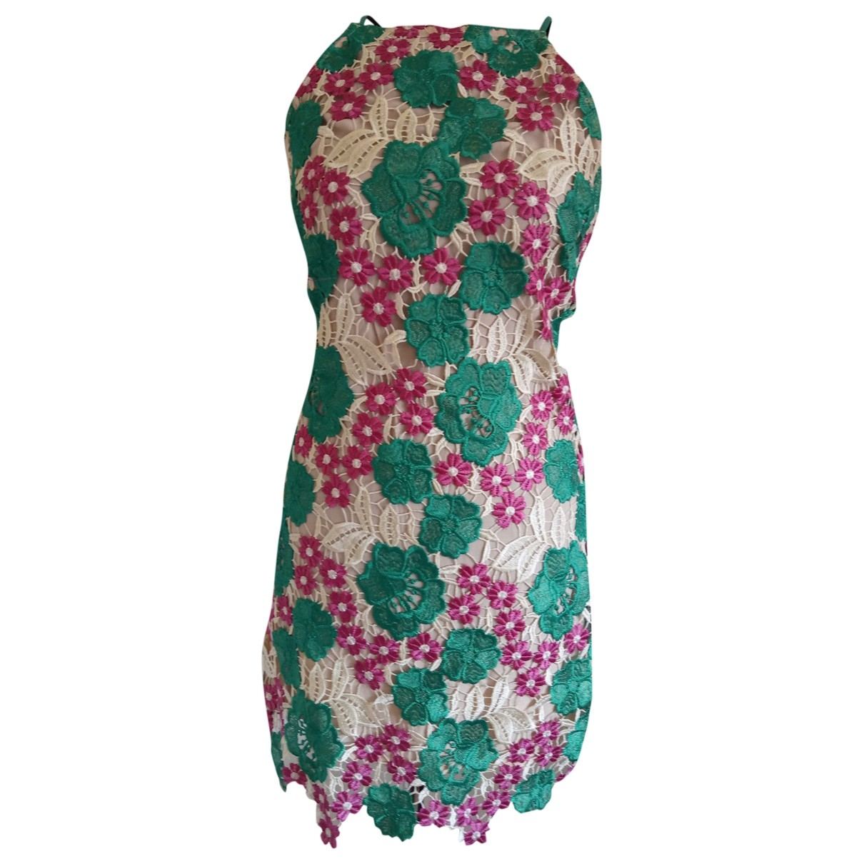 Non Signé / Unsigned \N Multicolour Lace dress for Women 10 UK
