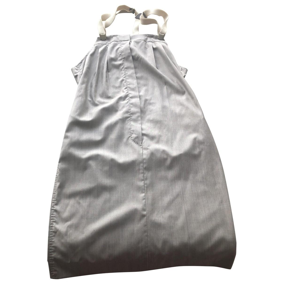 Max Mara \N Beige Silk dress for Women 42 IT