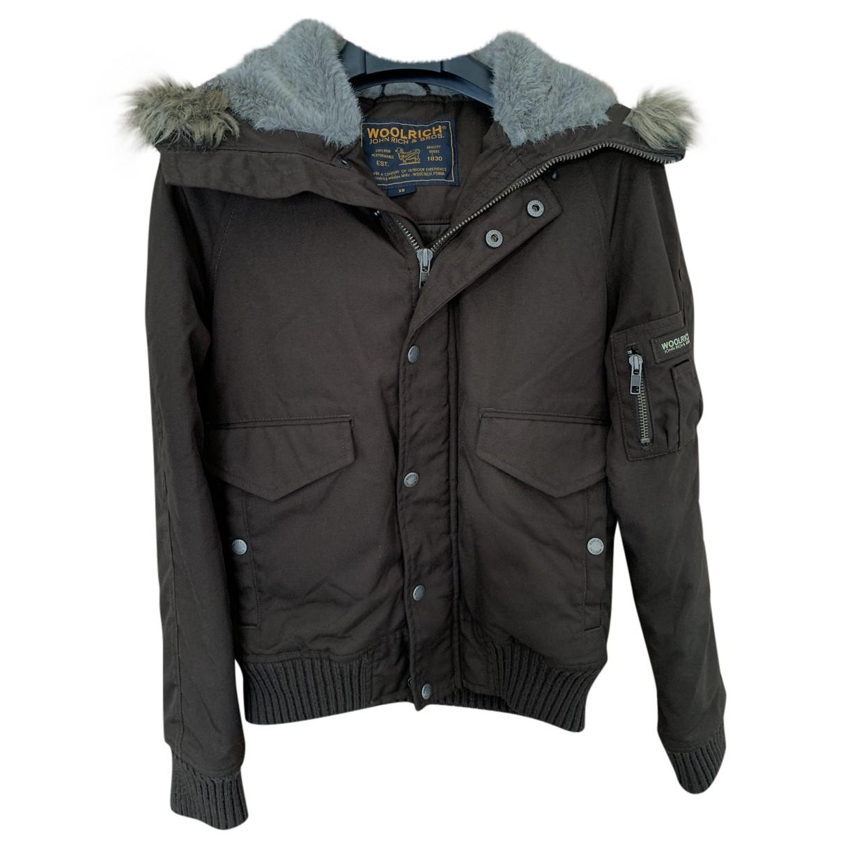 Woolrich N Brown jacket for Women XS International
