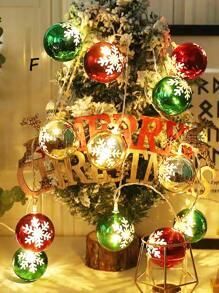 10pcs Ball Bulb Christmas String Light