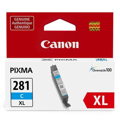 Canon CLI-281XL 2034C001 cartouche d'encre originale cyan haute capacité