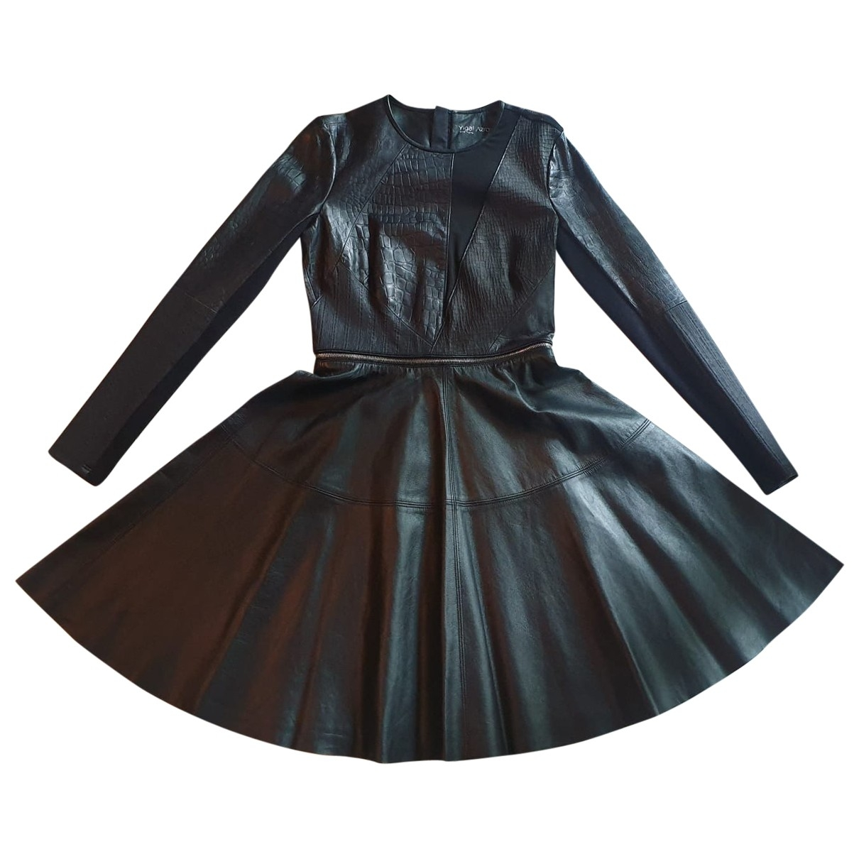 Yigal Azrouel - Robe   pour femme en cuir - noir