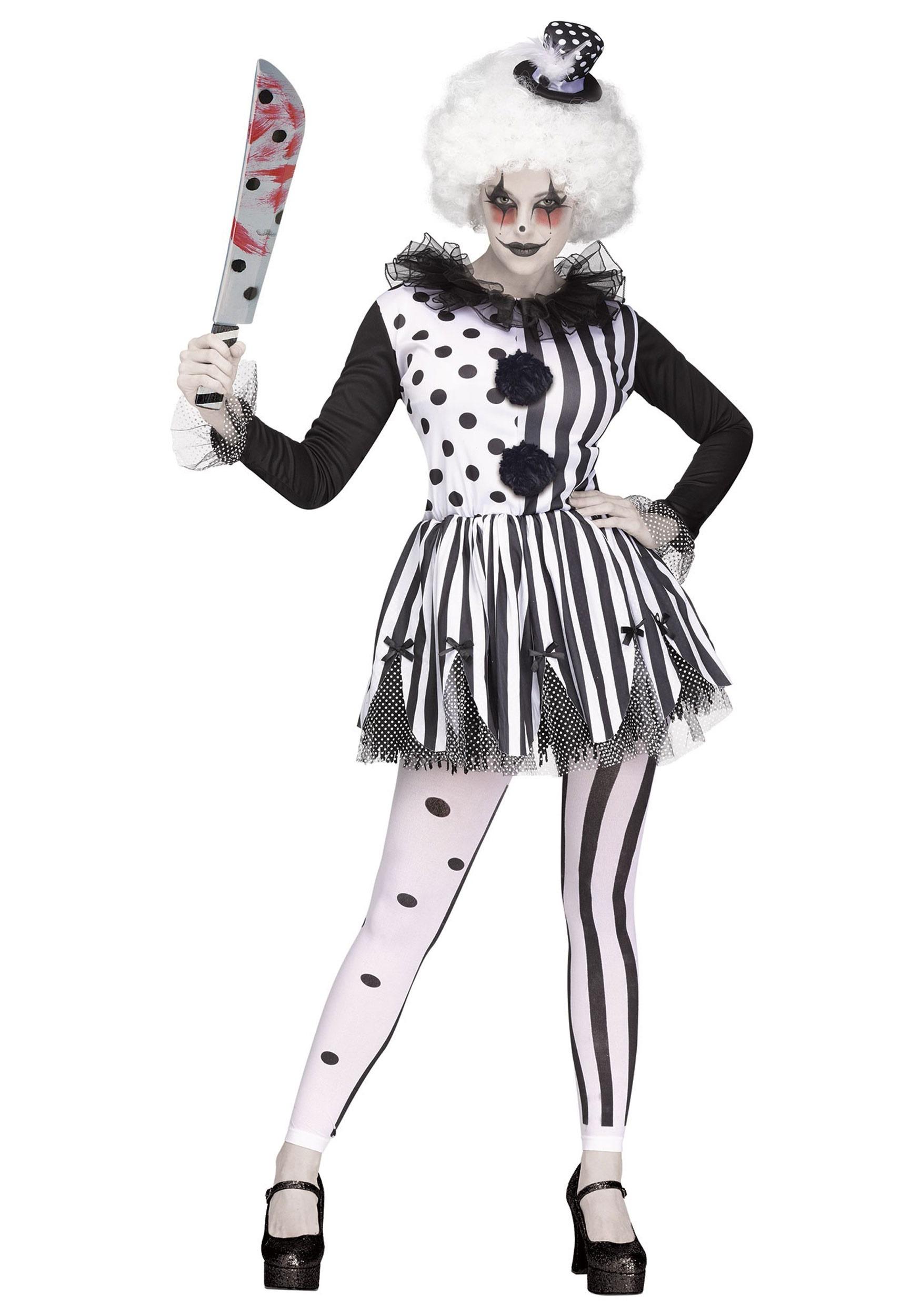 Killer Clown Costume for Women