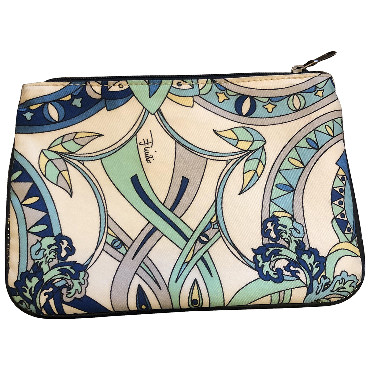 Emilio Pucci N Turquoise Cloth Purses, wallet & cases for Women N