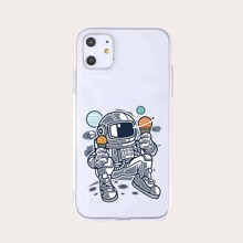 iPhone Huelle mit Astronaut Muster