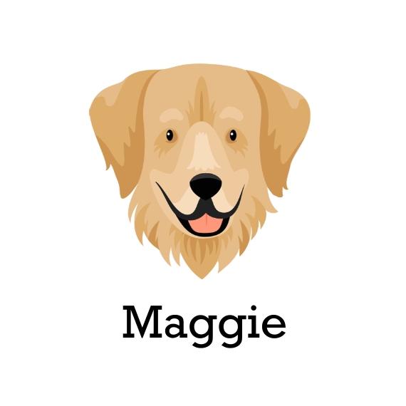 Dog Breeds Retractable Leash, Gift -Golden Retriever