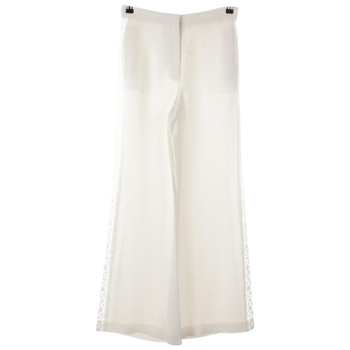 Pantalon de Seda Zuhair Murad