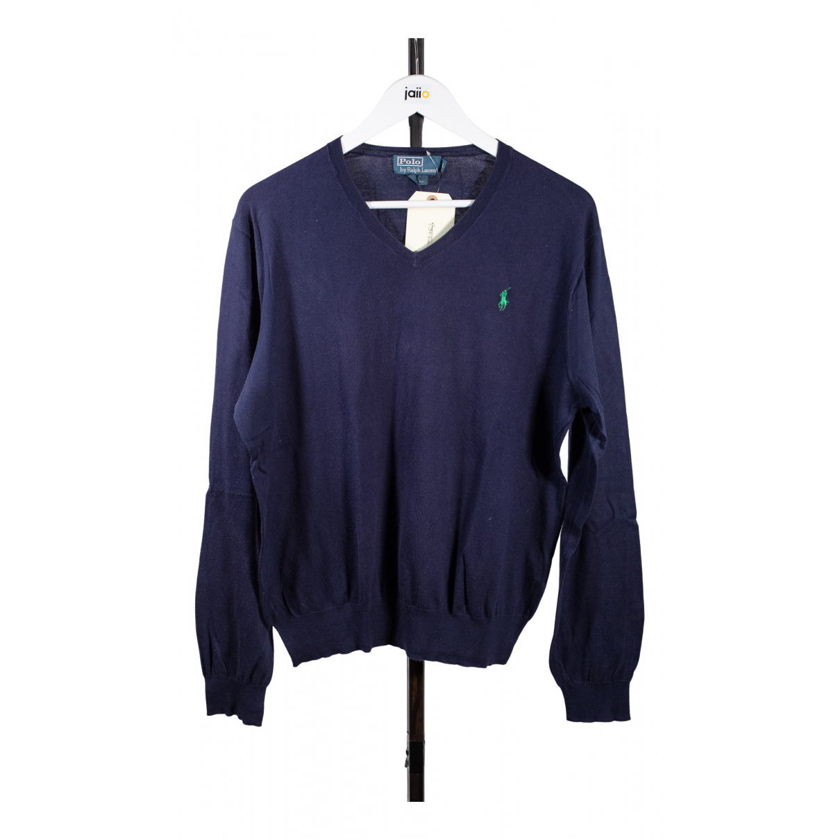 Polo Ralph Lauren \N Blue Cotton Knitwear & Sweatshirts for Men 42 FR
