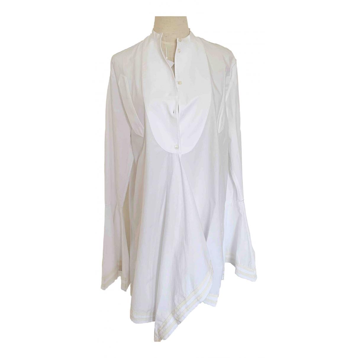 J.w. Anderson - Top   pour femme en coton - blanc
