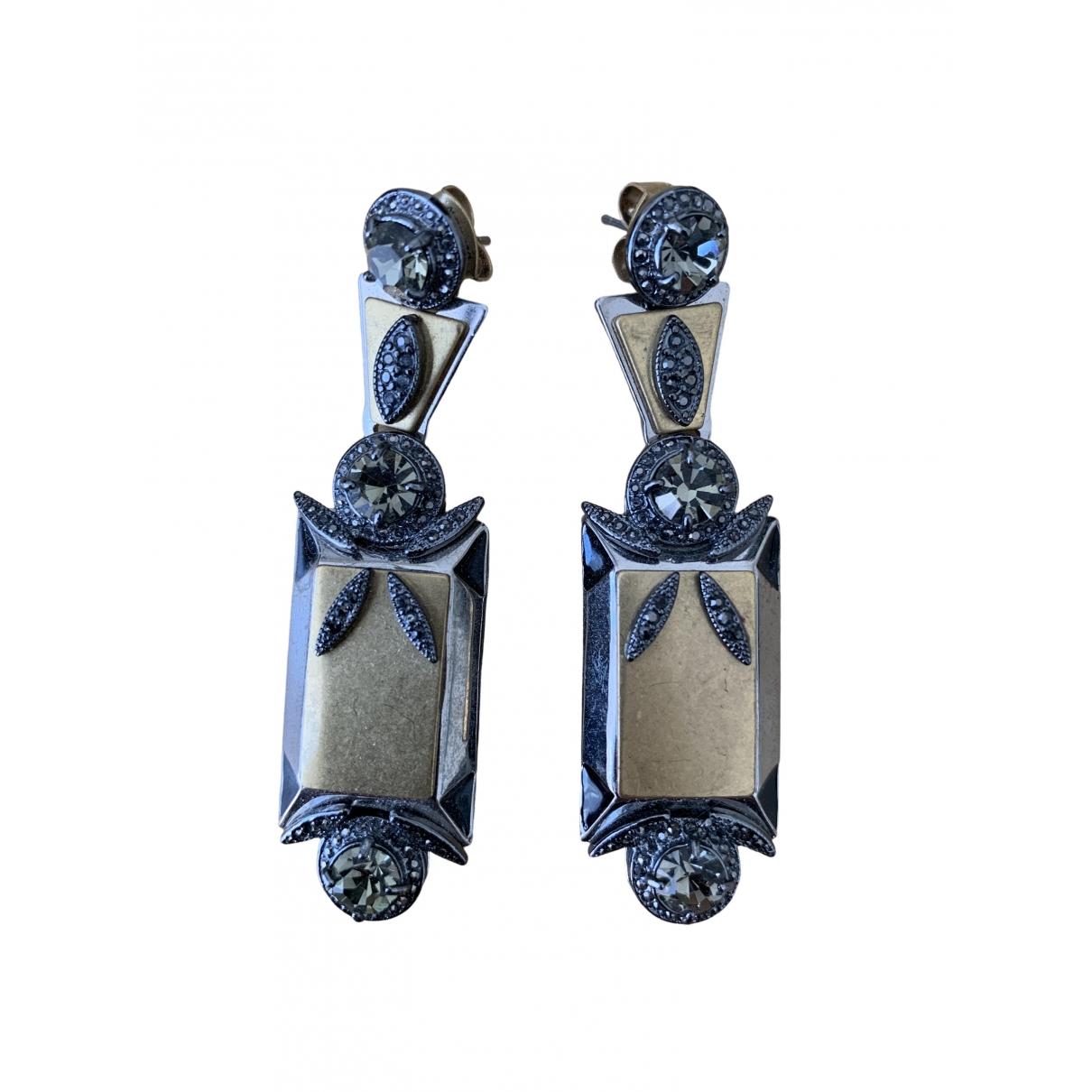 J.crew \N Silver Metal Earrings for Women \N