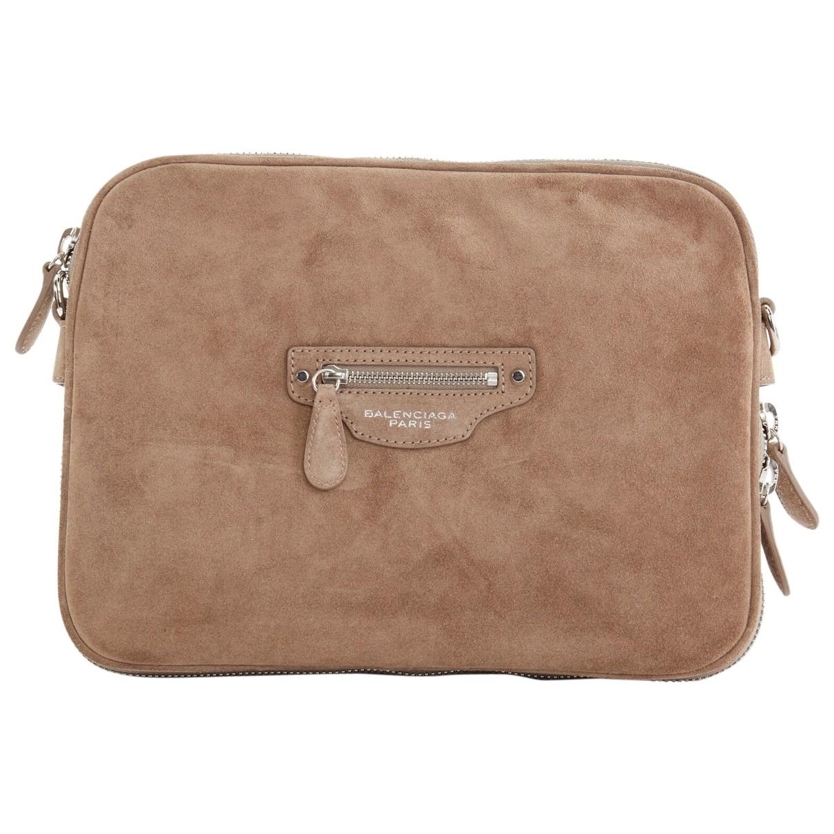 Balenciaga - Accessoires   pour lifestyle en suede - marron