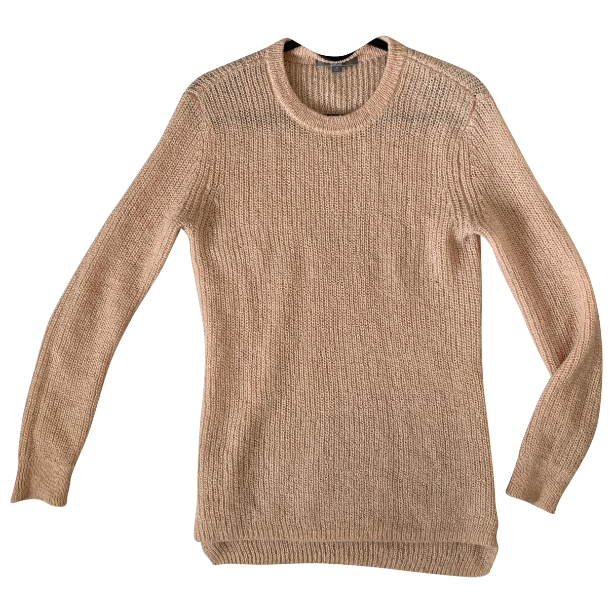 Uniqlo \N Pullover in  Rosa Synthetik