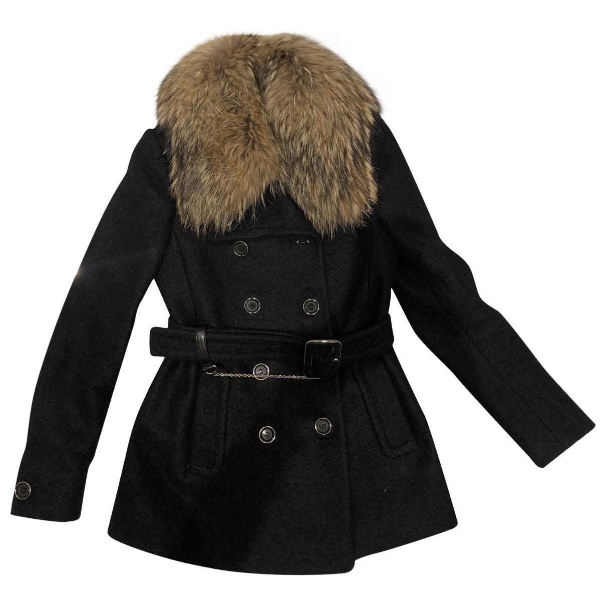 Gucci \N Black Fur coat for Women 38 IT