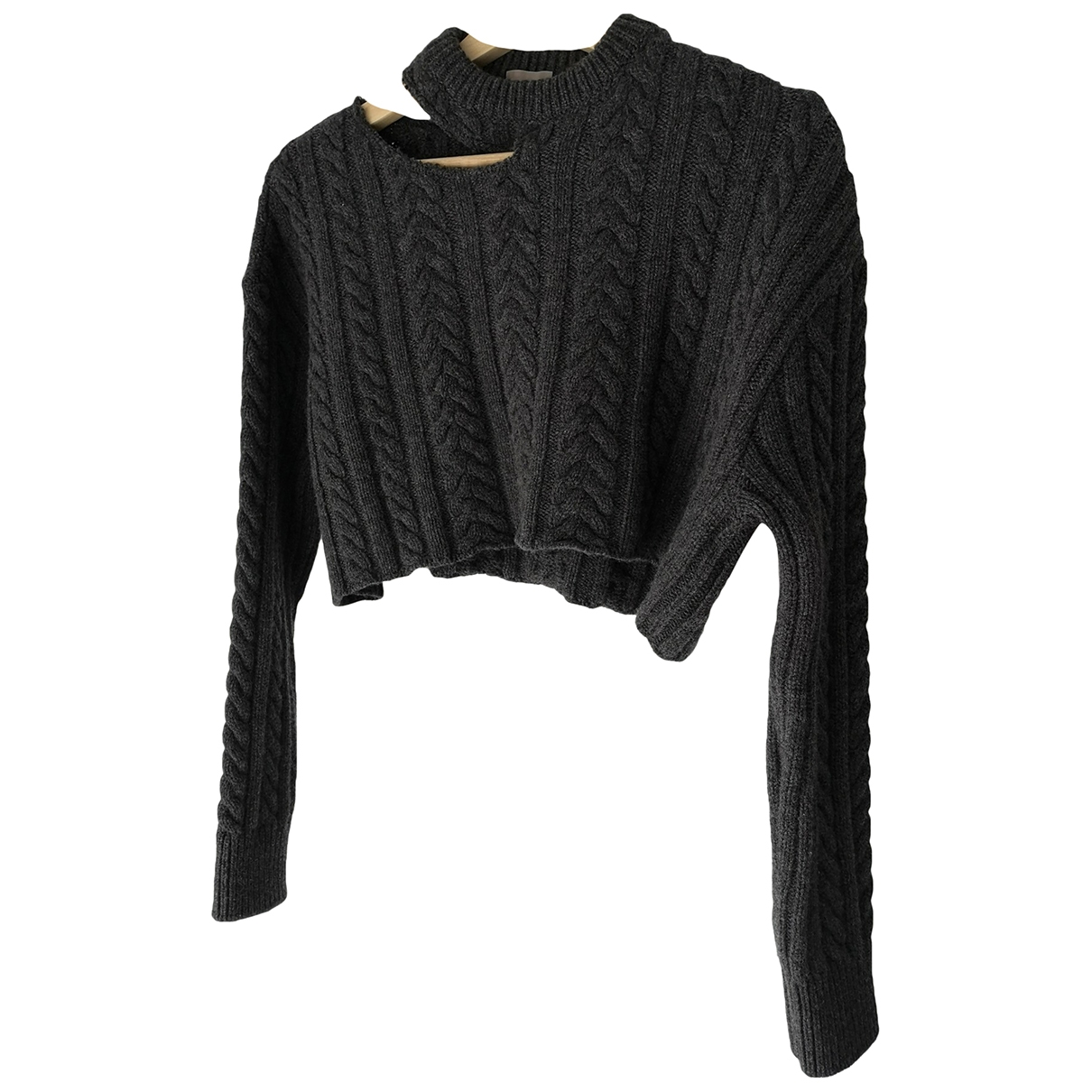 Mrz \N Grey Wool Knitwear for Women 36 FR