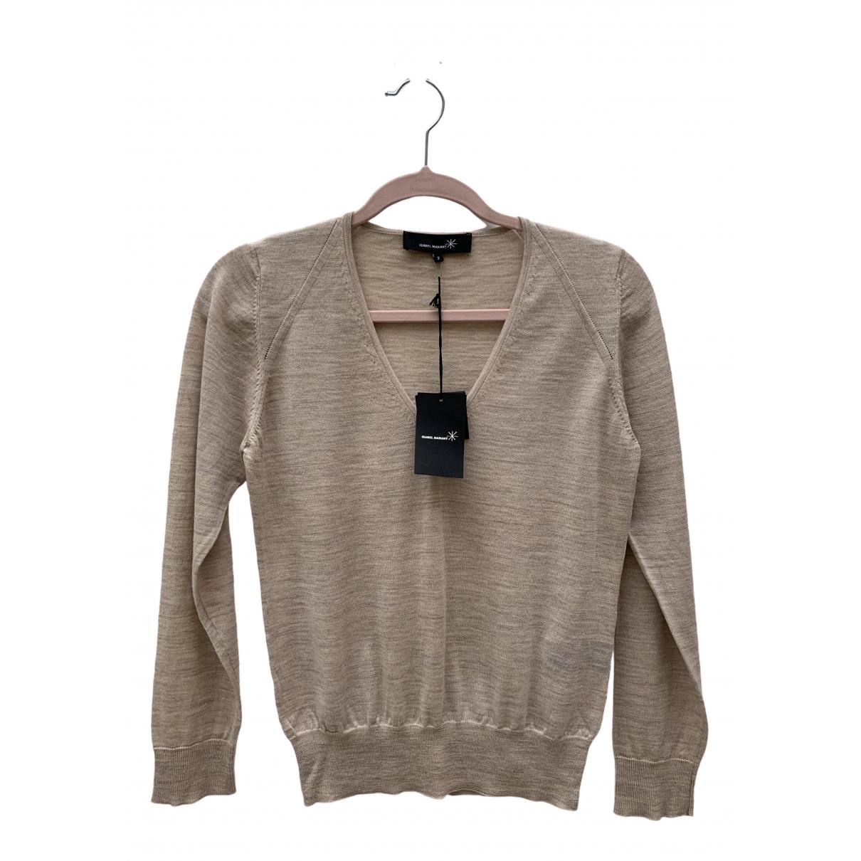 Isabel Marant \N Beige Wool Knitwear for Women 38 FR
