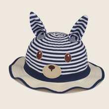 Kleinkind Kinder Hut mit Karikatur Design