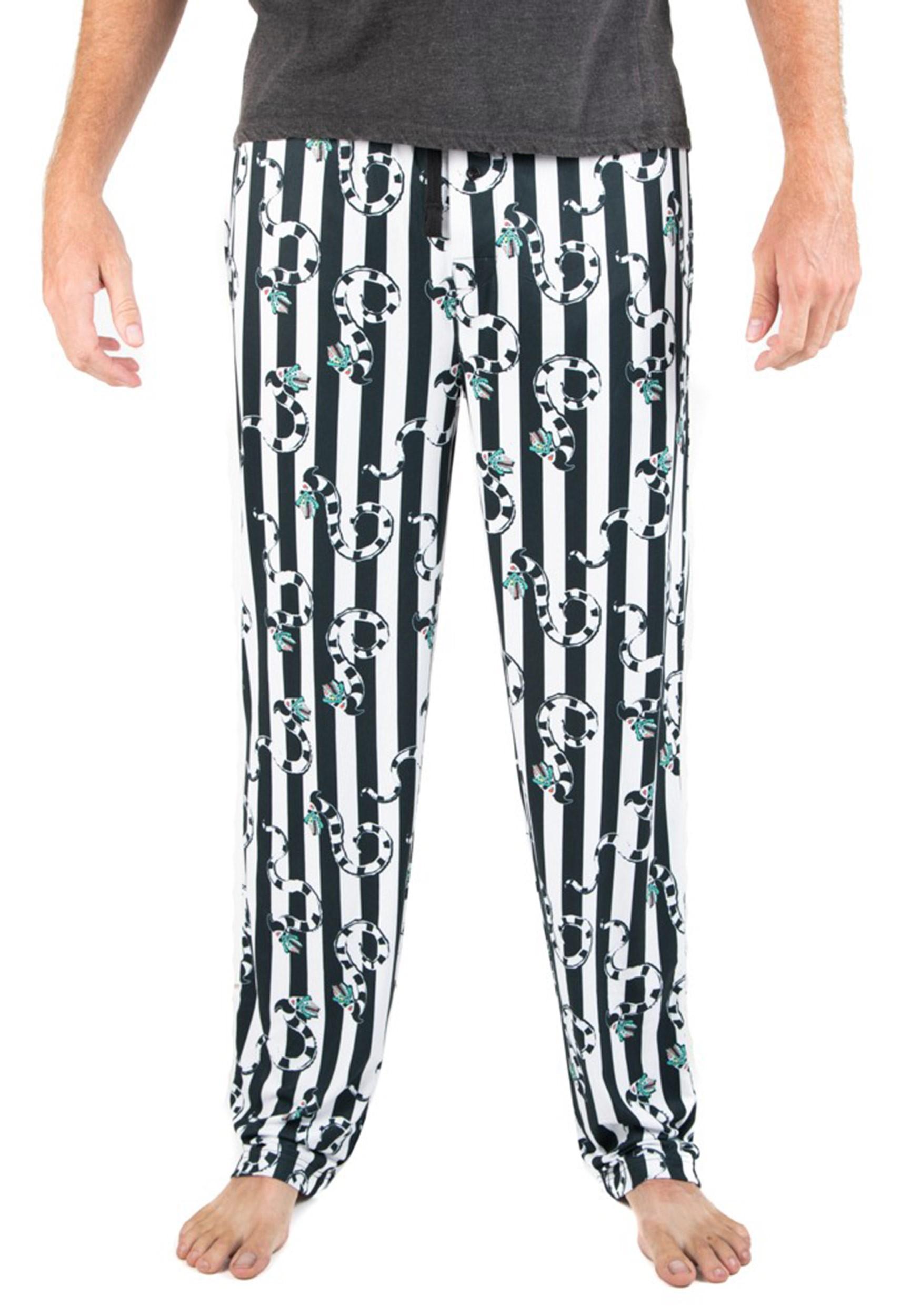 Sleep Pants Beetlejuice All Over Print