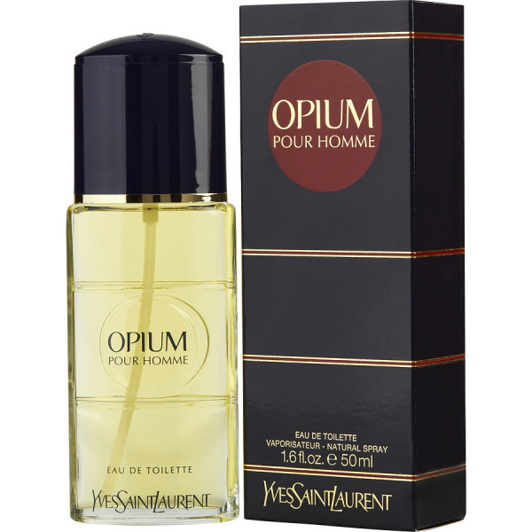 Opium Pour Homme - Yves Saint Laurent Eau de Toilette Spray 50 ML
