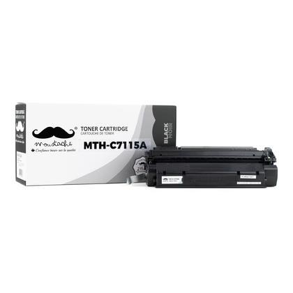 Compatible HP 15A C7115A cartouche de toner noire - Moustache® (pas pour l'imprimante HP P1005)